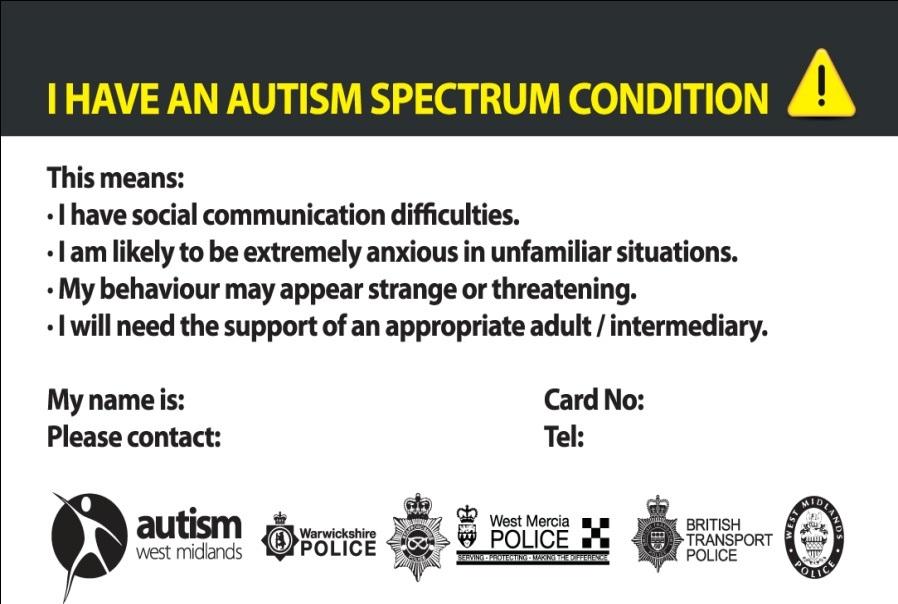 Autism Card 2