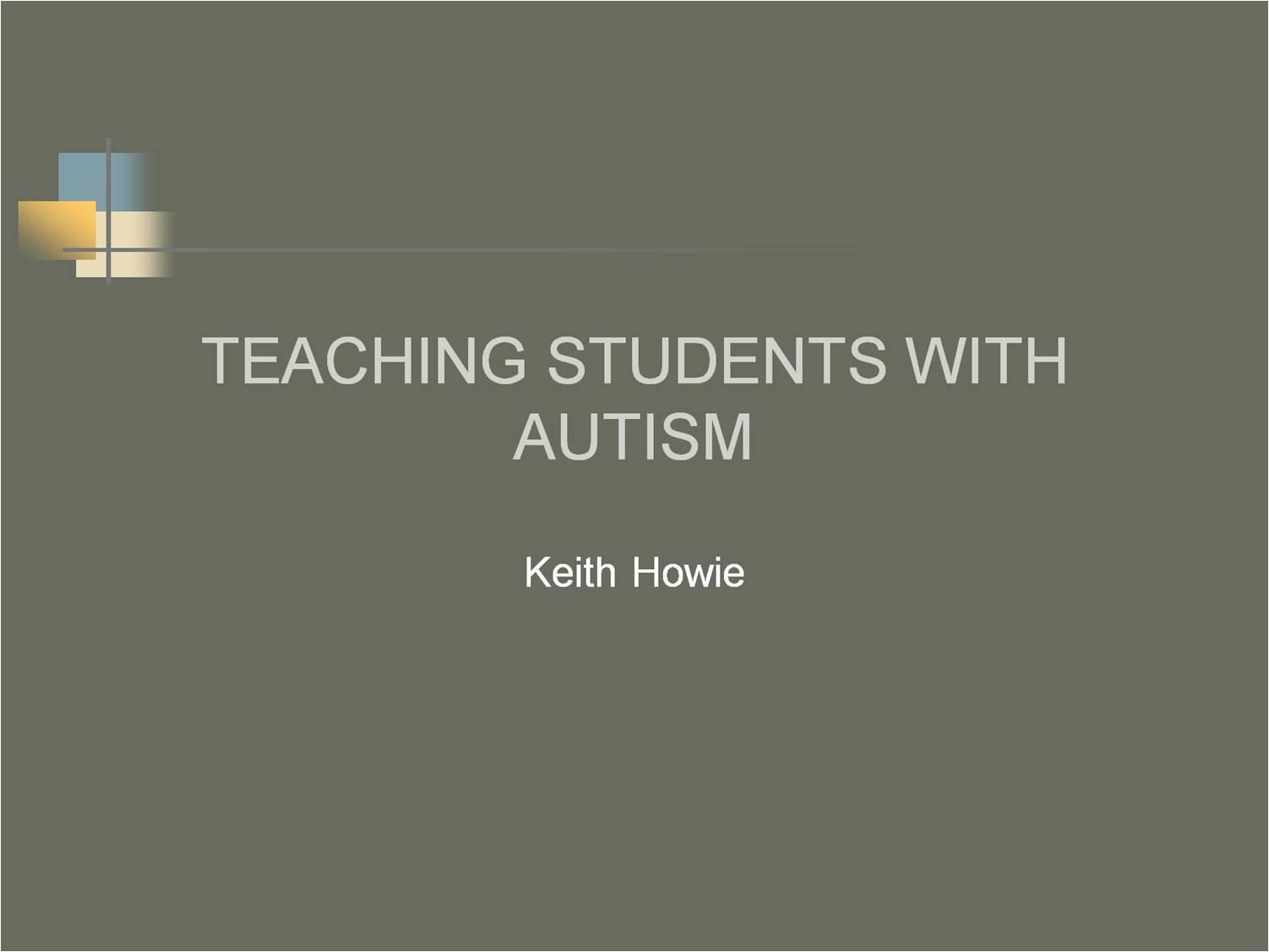 teaching powerpoint presentation