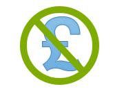No pound icon