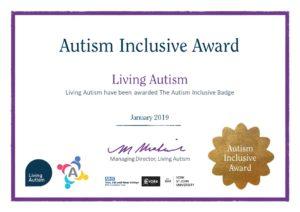 Autism Inclusive Award